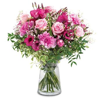 Bloemen laten bezorgen in het buitenland