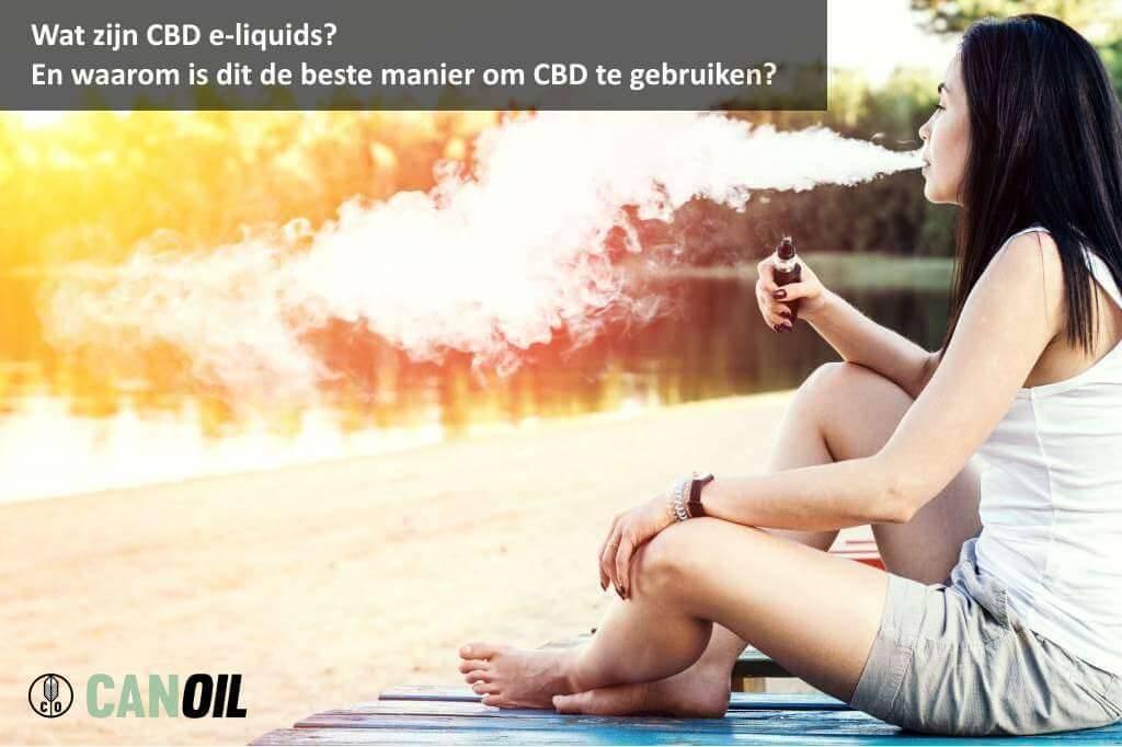 Nu ook verkrijgbaar bij de CBD Olieshop op cbd-olie-shop.nl: de e-liquid.